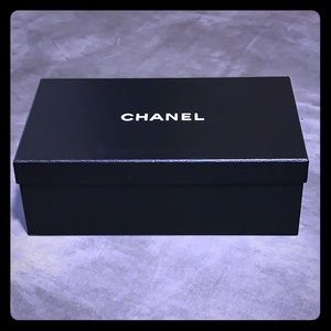 Chanel collectable shoe box